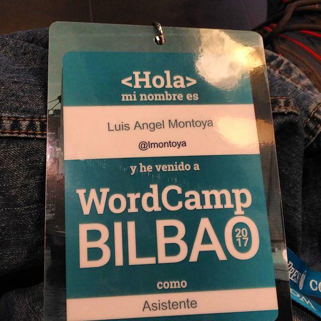 Hoy dándolo todo en #WCBilbao