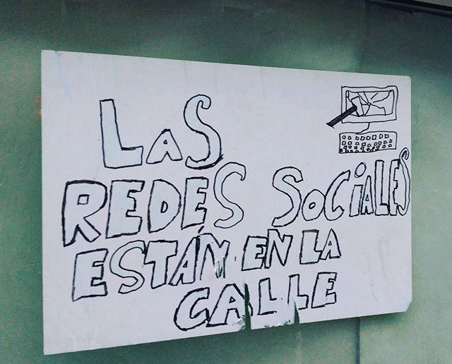 Las Redes Sociales están en la calle