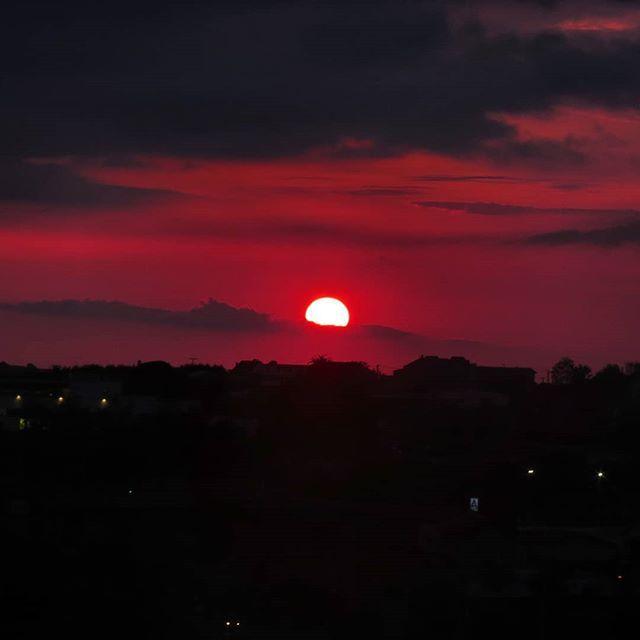 Sol rojo